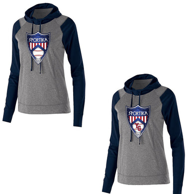 Young Gun Women's Two Tone Hoodie