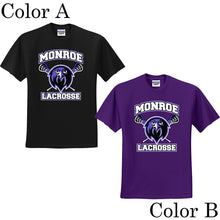 Monroe Lacrosse Cotton T-Shirt