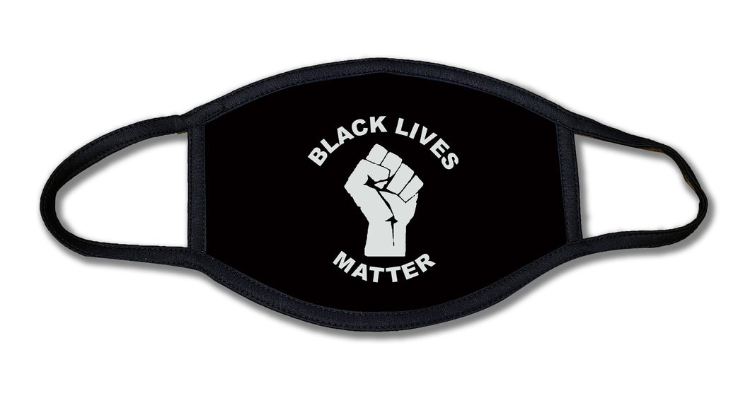 Black Lives Matter Fist Face Mask