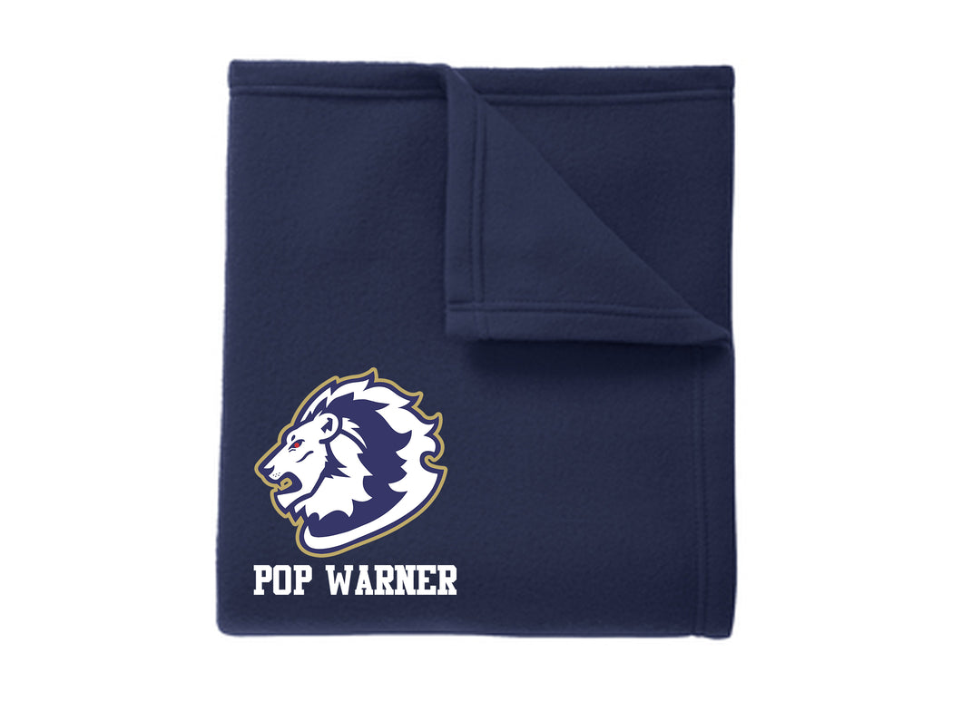 Howell Lions Embroidered Blanket