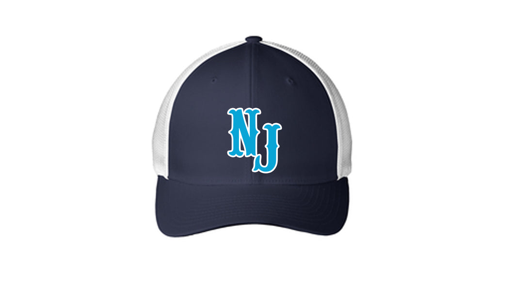 NJ Marlins Embroidered Logo Team Hat