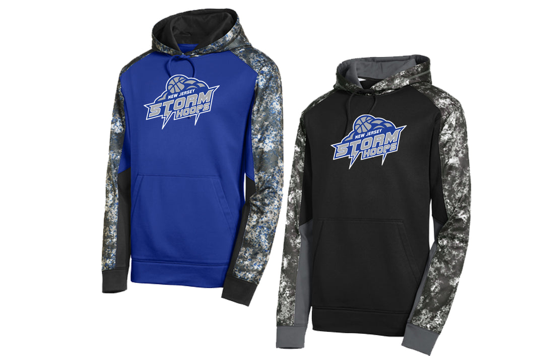 Storm Hoops Color Block Performance Hoodie