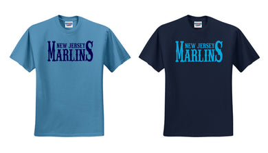 NJ Marlins Cotton T-Shirt