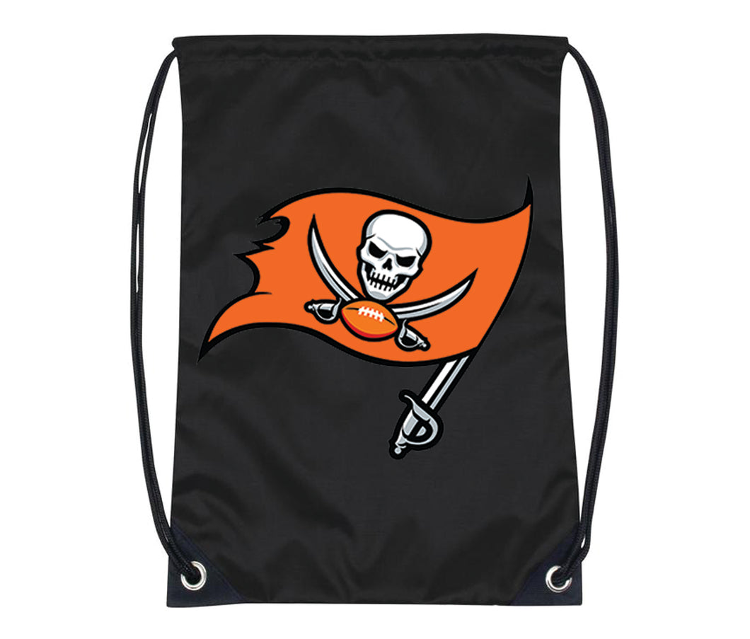 Beach Bucs Drawstring Bag