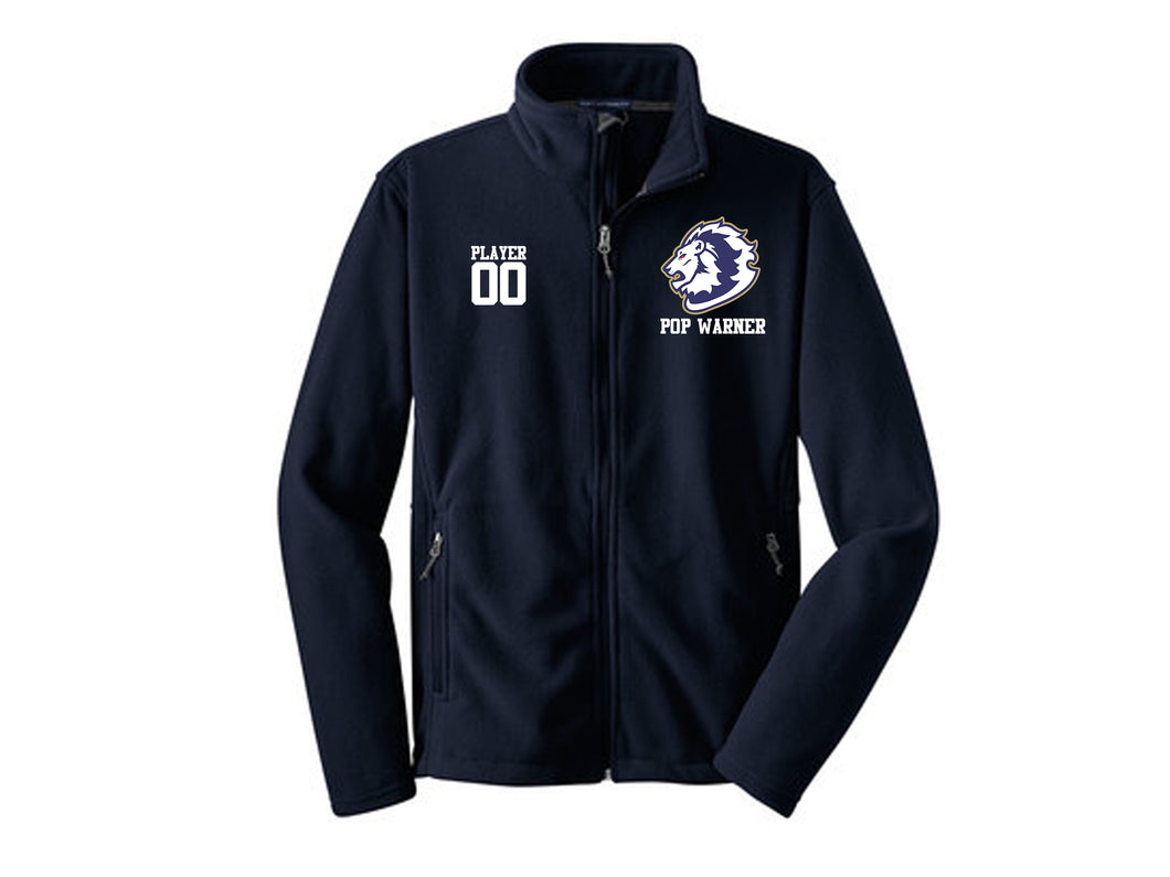 Howell Lions Football and Cheer Fleece Jacket with Embroidery