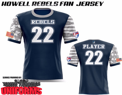 Howell Football Player Fan Jersey
