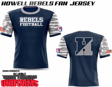 Howell Football Fan Jersey
