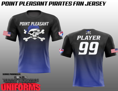Point Pleasant Pirates Fan Jersey