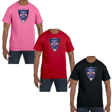 Youth Cotton T-Shirt Futsal Soccer