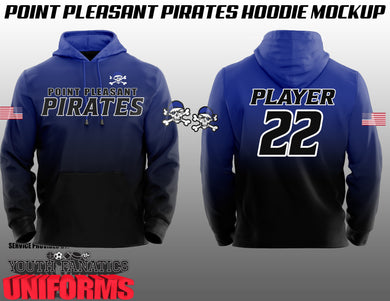Point Pleasant Pirates Fan Hoodie