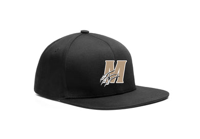 Monroe Wolverines Football Embroidered Logo Team Hat