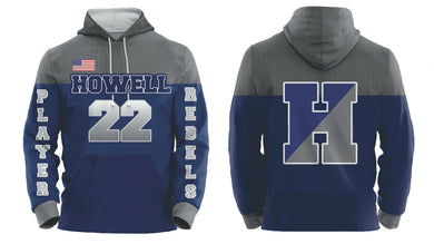Howell Rebels Custom Hoodie