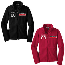 Ladies Fleece Jacket with Embroidered Logo