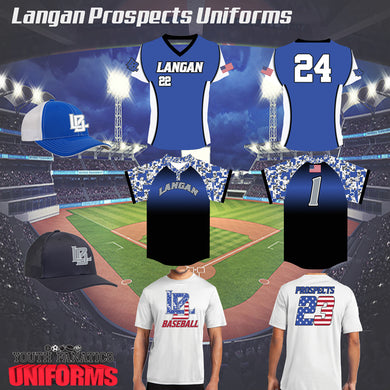 2020 Langan Baseball Uniform Bundle