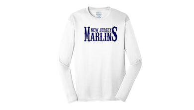 NJ Marlins Long Sleeve Performance Shirt