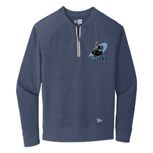 New Era Quarter Zip Pullover with Embroidered Logo
