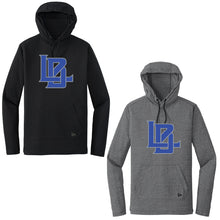 Langan New Era® Tri-Blend Performance Pullover Hoodie Tee