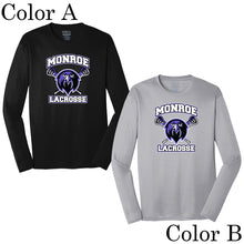 Monroe Lacrosse Long Sleeve Performance Shirt