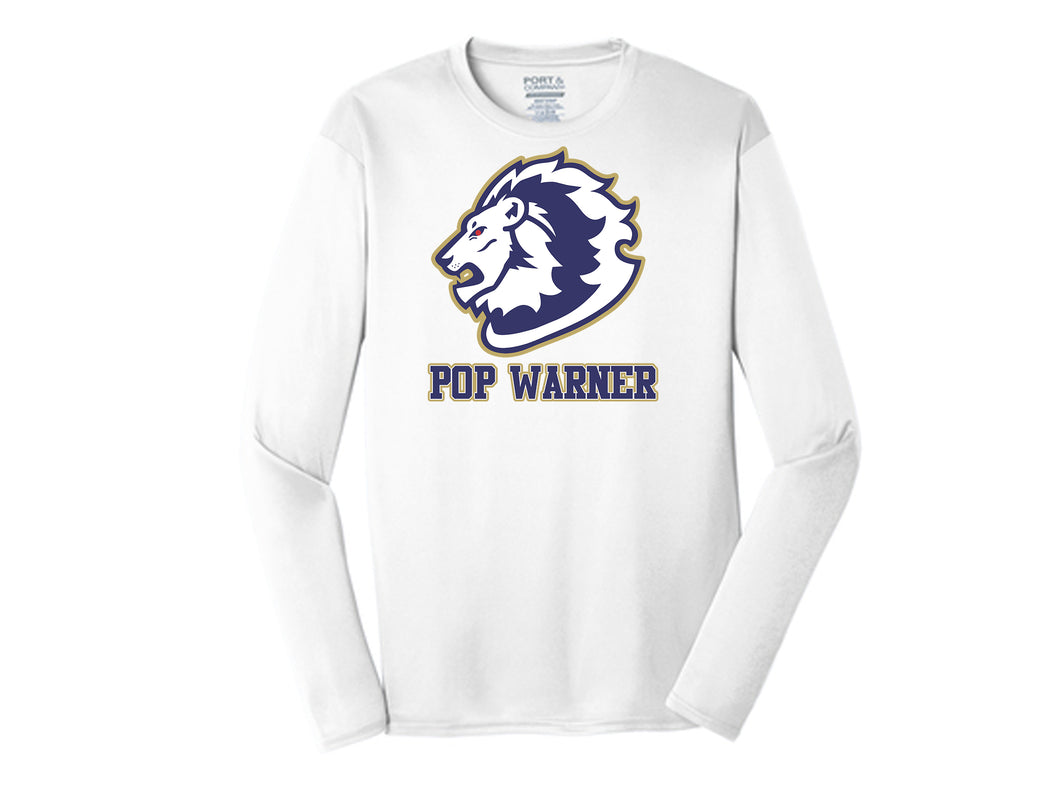 Howell Lions New Era Long Sleeve Performance Crew Tee