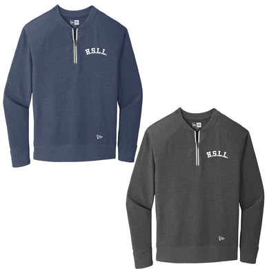 Howell South Little League New Era Quarter Zip Pullover with Embroidered Logo