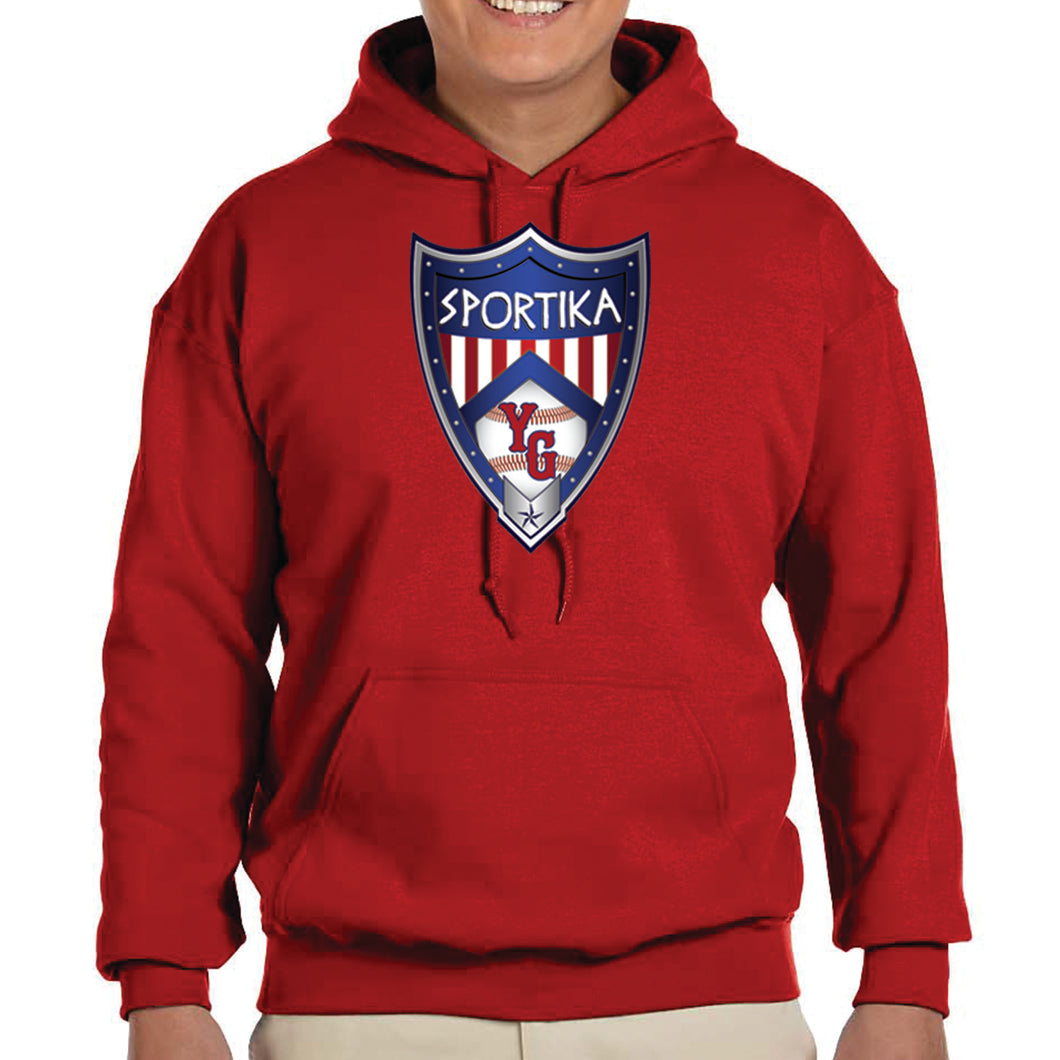 Young Guns Youth&Adult Cotton Hoodie Crest