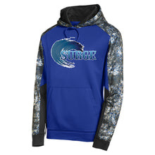 Brick Surge Color Block Performance Hoodie