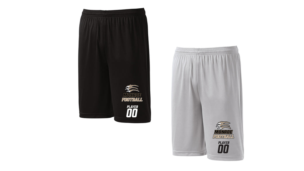 Monroe Wolverines Training Shorts