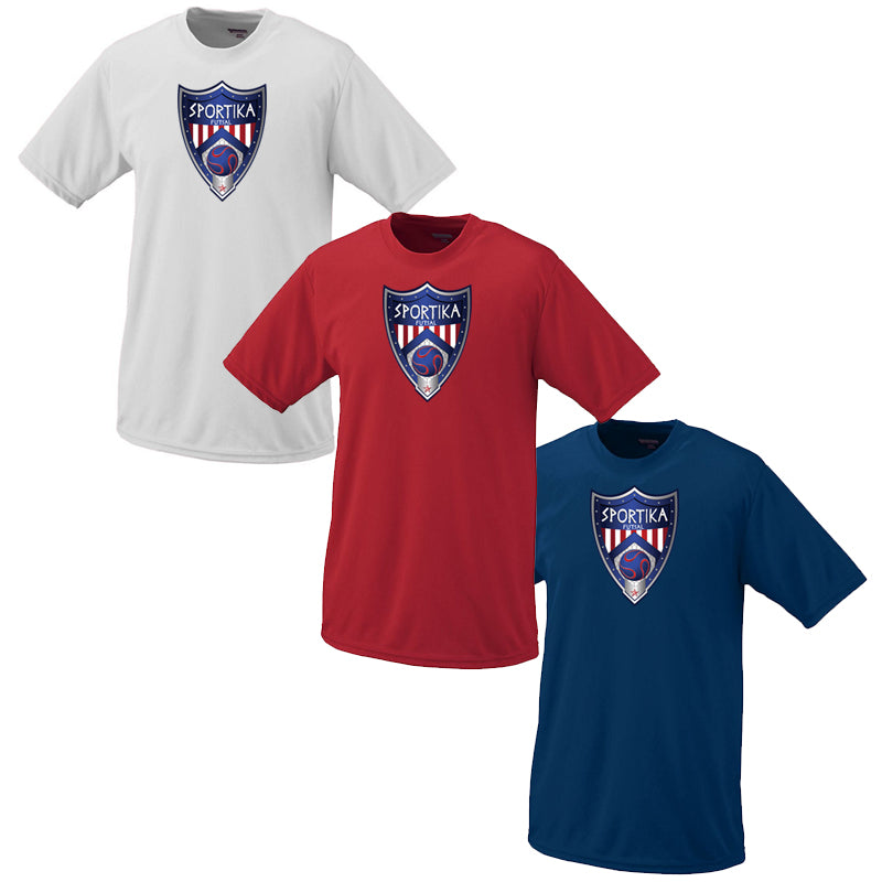Youth Dry Fit T-Shirt Futsal Soccer