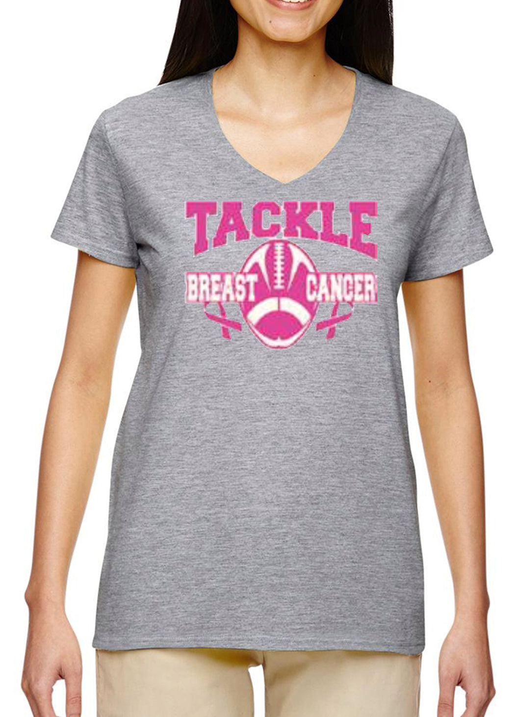 Women's V-Neck Tackle BC