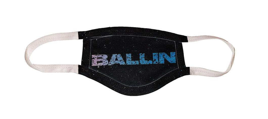 Youth Ballin Face Mask