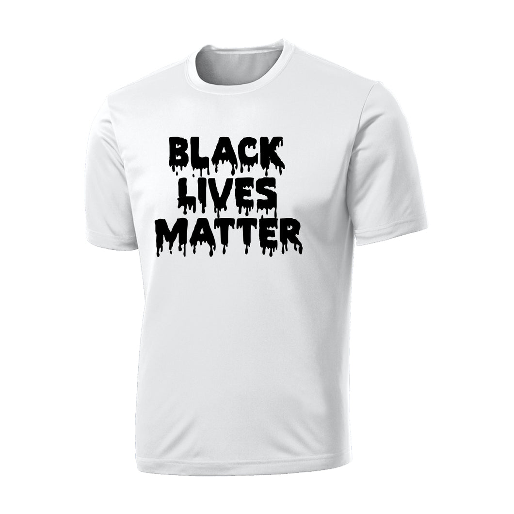 BLACK LIVES MATTER Drip Cotton T-Shirt
