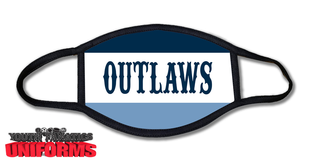Freehold Outlaws Face Mask