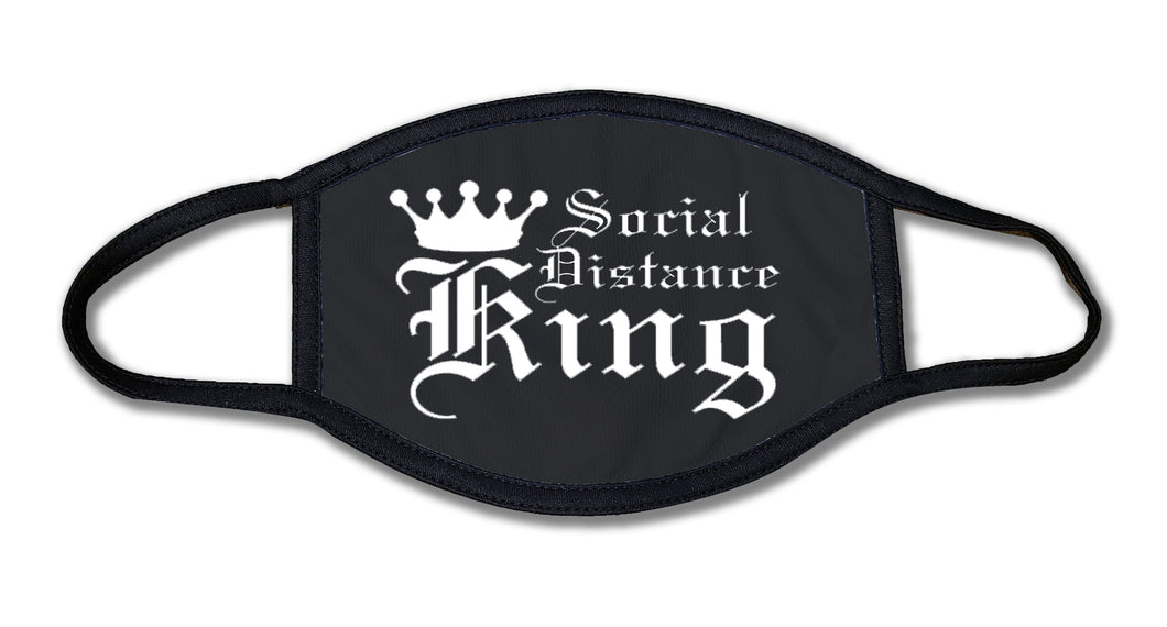 SOCIAL DISTANCE KING Face Mask