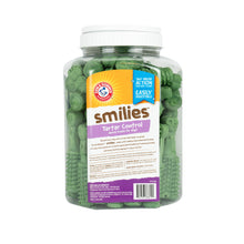 Arm & Hammer: Smilies (FORMERLY Brushies) Tartar Control Dental Treats for Dogs Value Pack Bucket- 62 pcs | 6 Piece per Carton