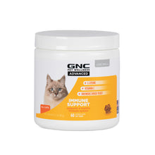 GNC Pets Advanced, Immune Support (Lysine), Cats, 60-ct 1.5g Soft Chews in 8oz White Canister | 12 Piece Per Carton