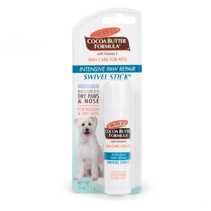 Palmer's for Pets Intensive Paw Repair Swivel Stick with Cocoa Butter 0.5oz | 12 Piece Per Carton