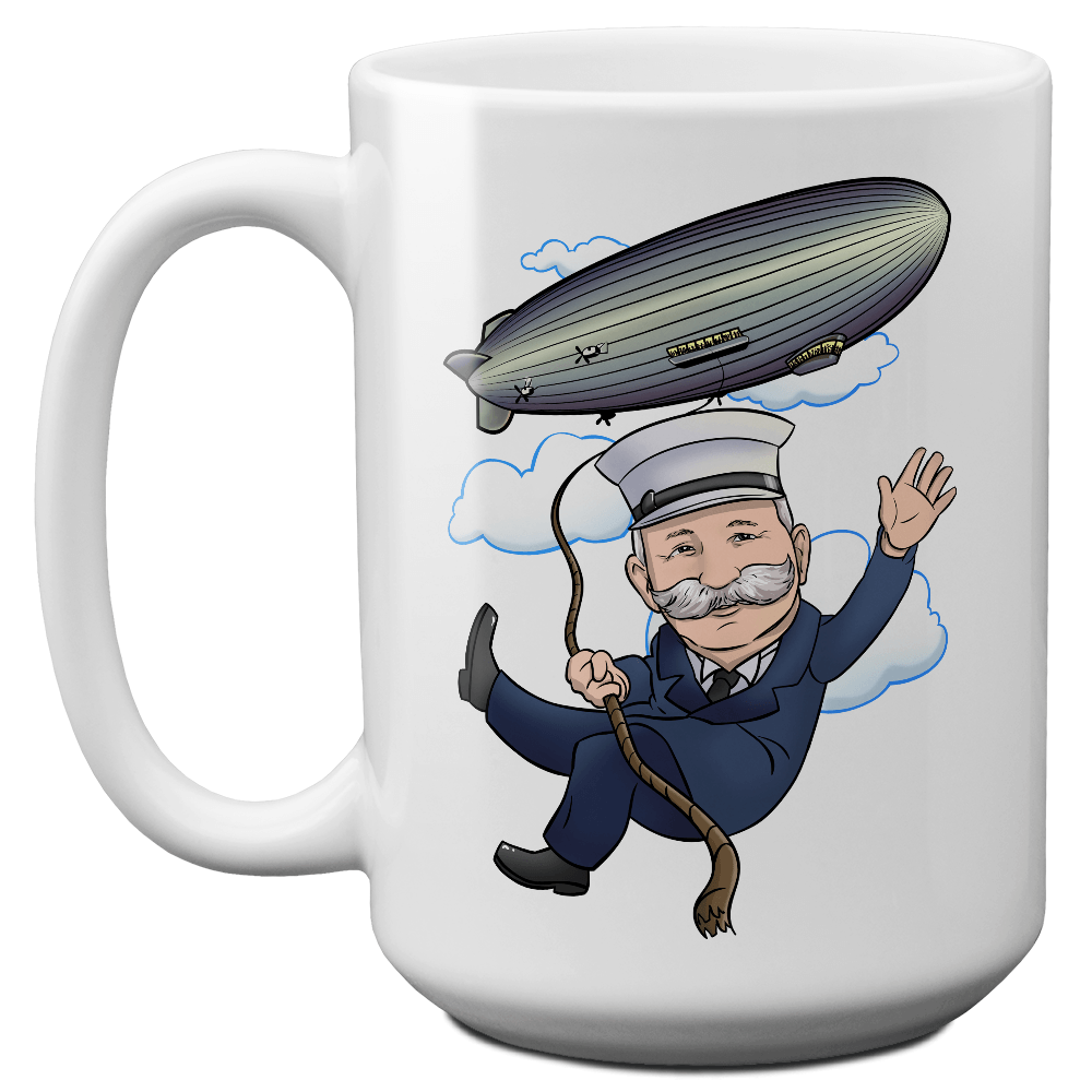 Whimsical Count von Zeppelin Mug