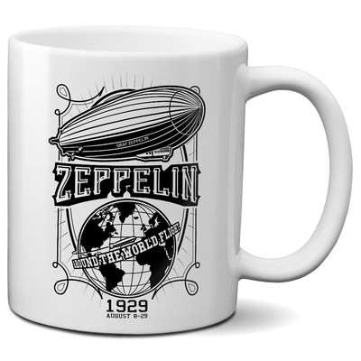 Graf Zeppelin - Around the World Flight Mug