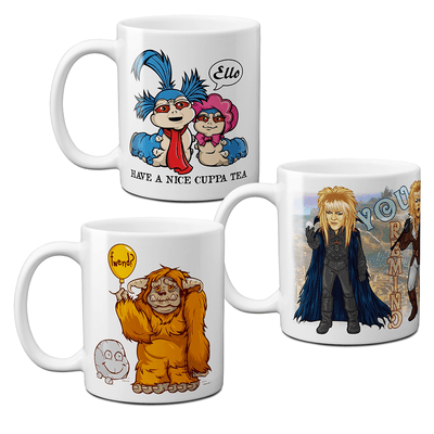 Labyrinth Mug Set of 3