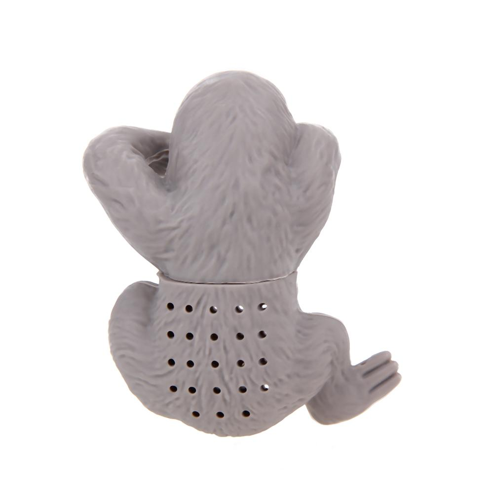 Hanging Sloth Silicone Tea Infuser