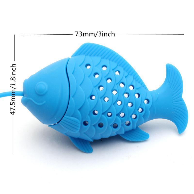 Fish and Fishing Pole Tea Infuser