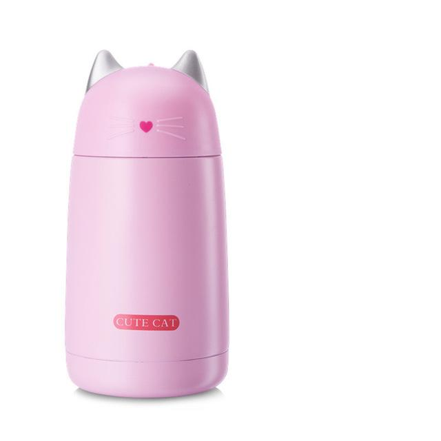 Cute Cat Stainless Steel Thermos