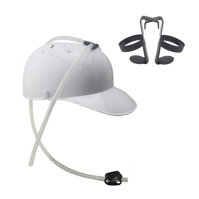 Hands-Free Drink Helmet