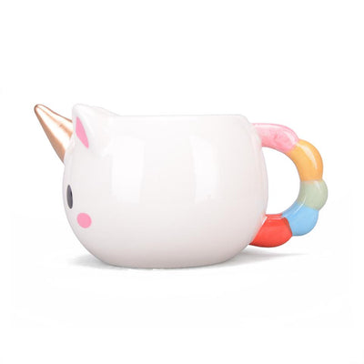 Cute Unicorn Sculpted Mug