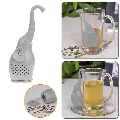 Trunk-Hanging Elephant Tea Infuser