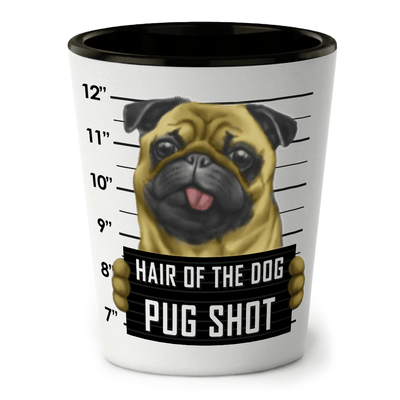 Pug Shot Glass - Funny Shot Glass