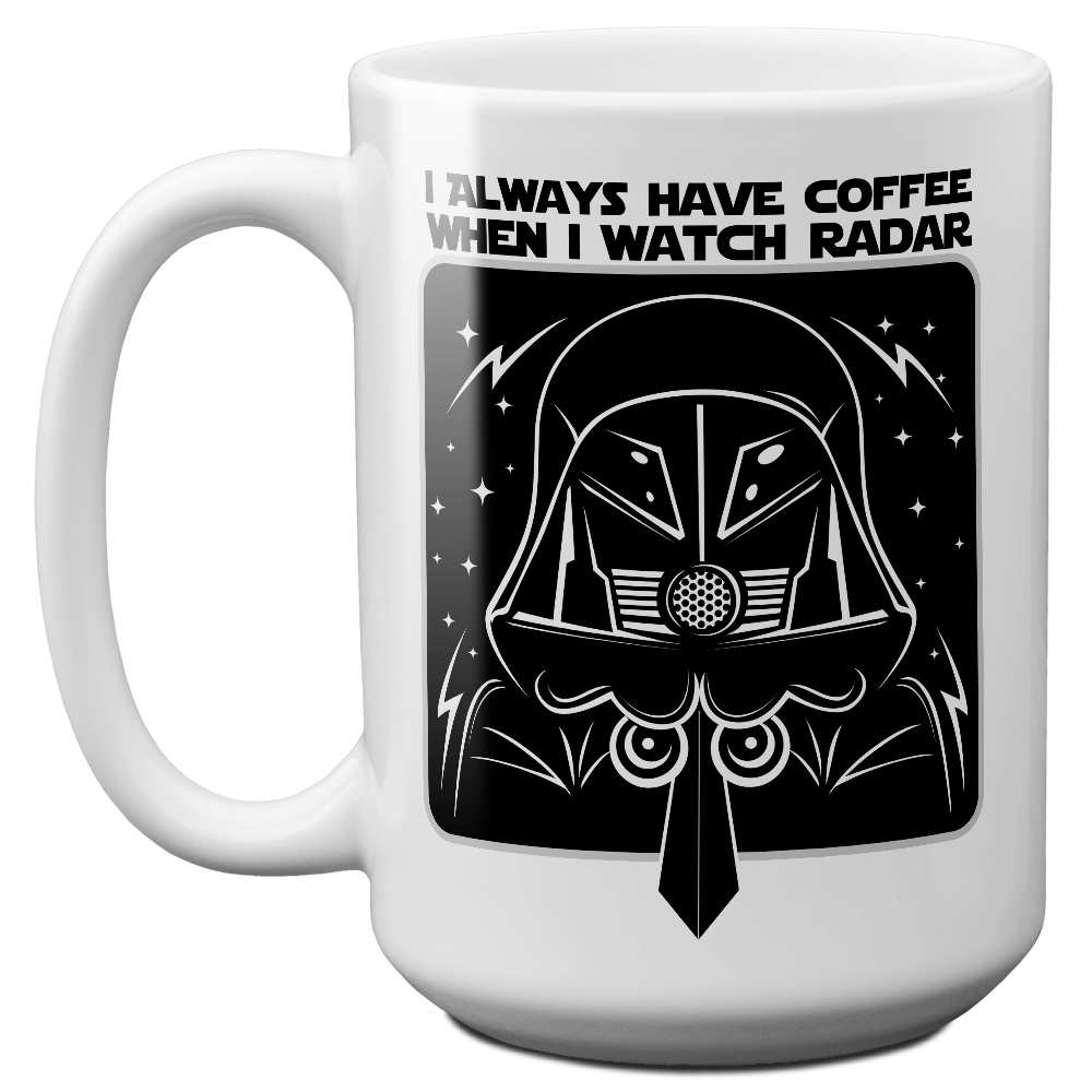 Schwartz Radar Coffee Mug