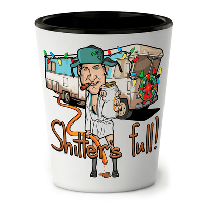Shitter's Full Shot Glass