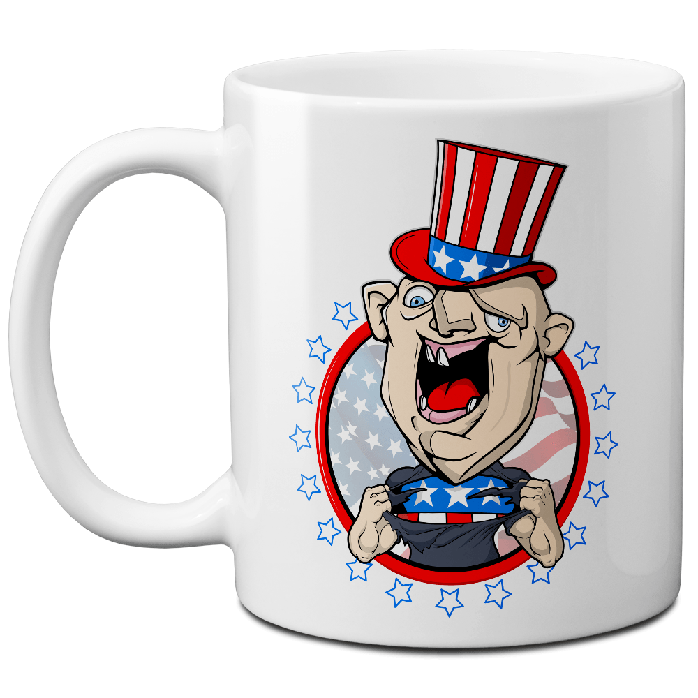 Sloth Patriot Mug