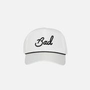 """Bad"" Rope Hat - White"